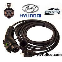 Зарядное устройство для электромобиля Hyundai IONIQ Electric AutoEco J1772-16A, фото 1