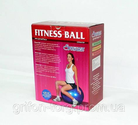 Мяч для фитнеса Фитбол 75 см, фото 2
