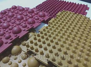 """Массажный резиновый коврик для ног """"Пазлы-8"""", фото 3"""