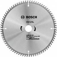 Диск пильний 250х30х80Т Aluminium Eco, Bosch