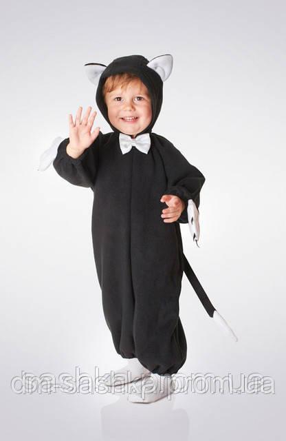 Детский карнавальный костюм «КОТИК ЧЕРНЫЙ»