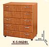 Комод К-5 (МДФ). Мебель для спальни, гостиной, детской, фото 2