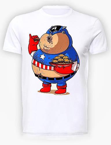 Футболка мужская GeekLand Капитан Америка Captain America gamburgerCA.01.011