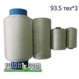 Нити капроновые 0.8 мм плотностью 95.3текс в 3 нити, рыболовные - полиамидные