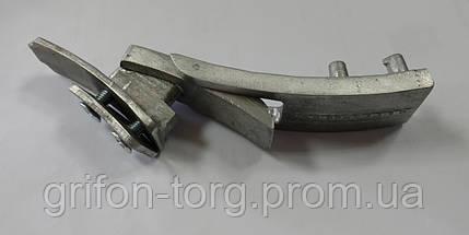 Пояс для пауэрлифтинга кожаный 2-хслойный с карабином, р-р S (58-75 см), фото 3