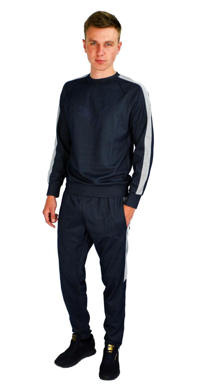 Темно-серый мужской спортивный костюм PUMA
