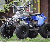 Электроквадроцикл CRAFTER HUNTER HB-6-EATV 800 BLUE, грузоподъемность 100кг, сигнализация, спидометр