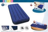 Двуспальный надувной матрас Intex 68757 ,  размер ; 99-191-22см