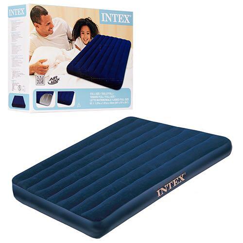Двоспальний надувний матрац Intex 68758 , Розміри: 137-191-22 див.