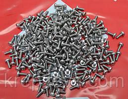 Винт М10 ГОСТ 17473-80 с полукруглой головкой