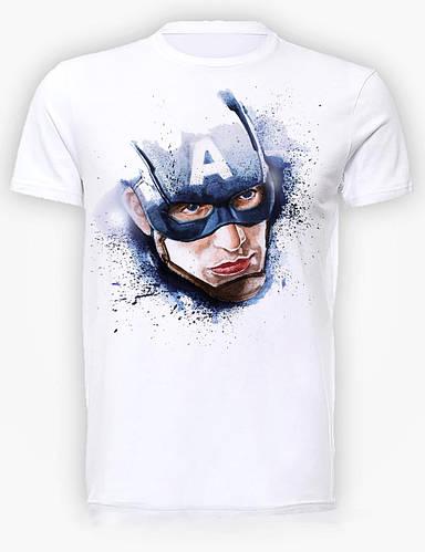 Футболка мужская GeekLand Капитан Америка Captain America head CA.01.013