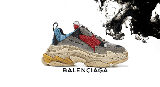 Кроссовки Balenciaga Triple S Multicolor
