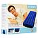 Велюровий матрац надувний Intex 64756, синій, одномісний 191 х 76 х 25 см, фото 3