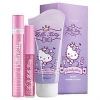 Детский парфюмерно-косметический набор Avon Hello Kitty, Эйвон, Хэллоу Китти, 09928