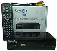 Приставка для цифрового телебачення Т2 Satcom T-530 metal; 2-x USB; AC3;  Wi-Fi;   IPTV; YouTube; Megogo