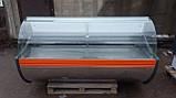 Холодильная витрина 2 м. Технохолод бу., купить прилавок холодильный бу., фото 3