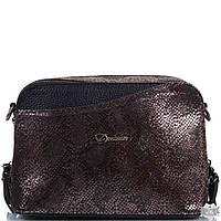 Женская кожаная сумка DESISAN SHI568-Serebro