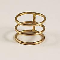 Золотий перстень без вставки