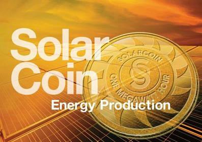 Криптовалюта SolarCoin та сонячні електростанції