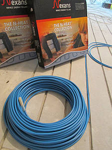 Монтаж тёплого электрического пола на базе нагревательного кабеля.