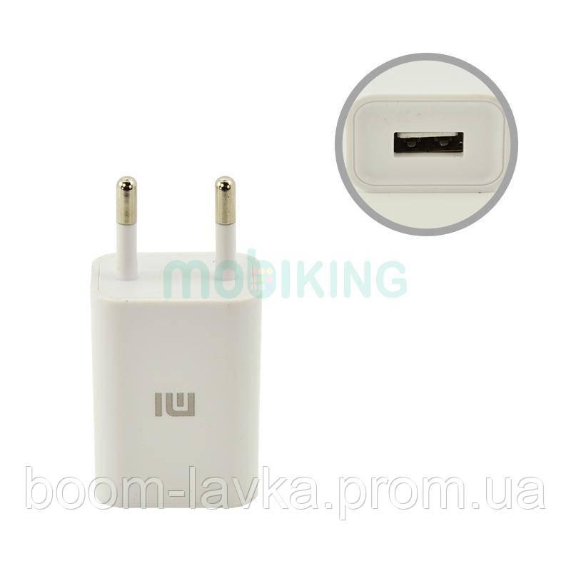 СЗУ USB Original Quality Xiaomi + cable Type-C 2A White