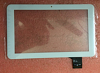 Оригинальный тачскрин / сенсор (сенсорное стекло) для Apache AT904 (белый цвет, самоклейка)