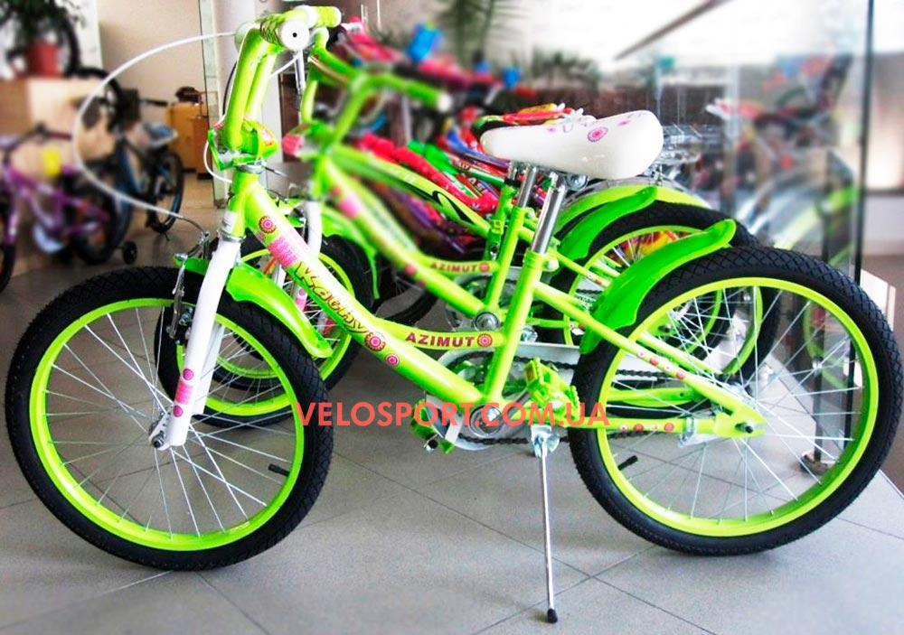 Детский велосипед Azimut Kathy 20 дюймов