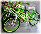 Детский велосипед Azimut Kathy 20 дюймов, фото 2