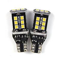 Лед лампочки для автов габариты CARLAMP Led W16W 3G-Series 6000 К 900 Lm (T15W16W-W)