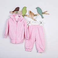 Комплект детский розовый