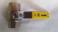 Кран газ шаровый Kalde (гайка-гайка) ∅ 3/4'' ручка