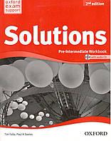 Solutions 2nd Edition Pre-Intermediate: Workbook for Ukraine