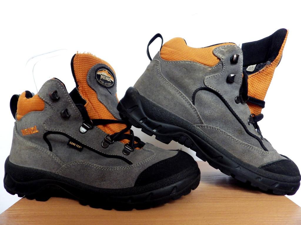 Ботинки Meindl Gore-Tex 100% Оригинал р-р 37 (23,5 см) (сток, б/у) женские трекинговые термо зимние