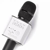 Беспроводной микрофон для караоке Tuxun Q9 черный с колонкой + чехол , фото 1
