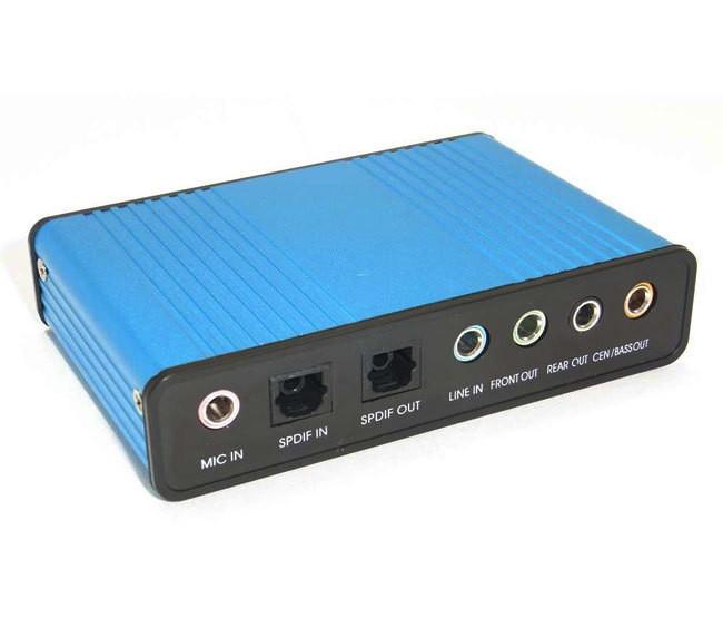 5.1 S/PDIF внешняя звуковая карта USB, заменяет основную звуковую карт