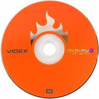 Диск DVD+RW Videx 4.7Gb bulk 10 4x