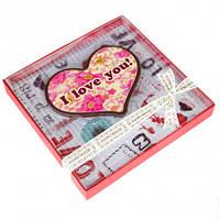 Подарок на 14 февраля. Шоколадное сердце, фото 1
