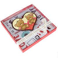 Валентинка-сердце на 14 февраля