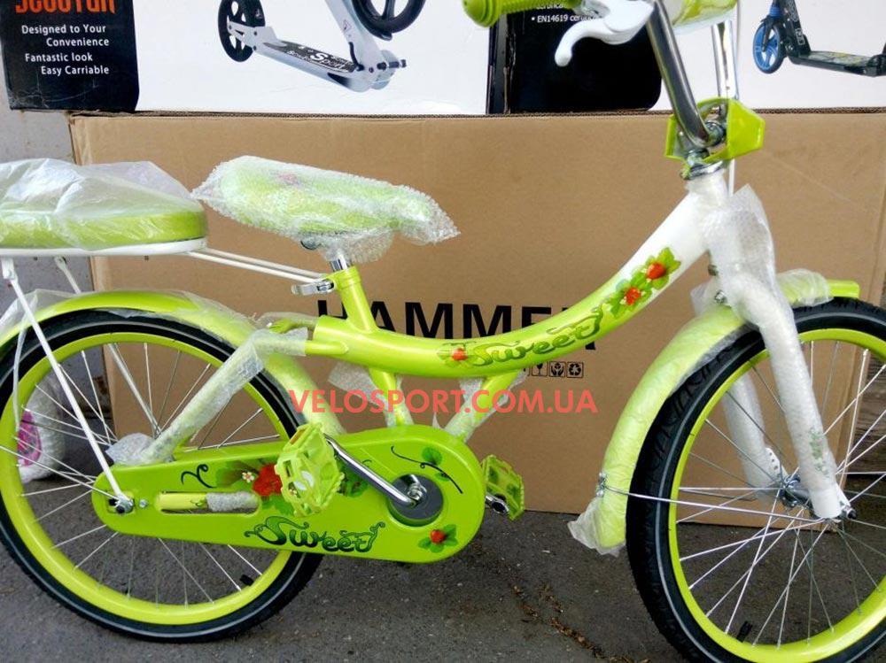 Детский велосипед Azimut Strawberry 20 дюймов