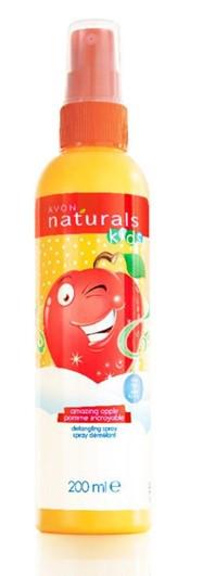 """Спрей для полегшення розчісування волосся дитячий """"Яблучне веселощі"""", Avon Naturals Kids, Ейвон, 200 мл, 98814"""