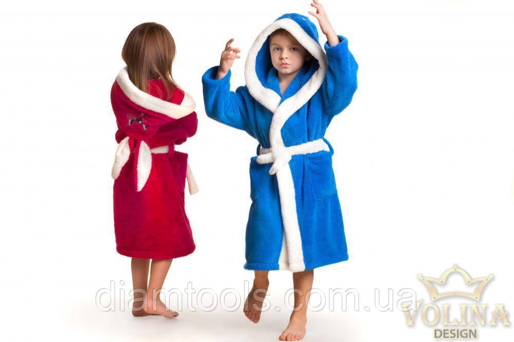 Детский махровый халат зайка с ушками.