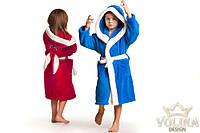 Детский махровый халат зайка с ушками., фото 1