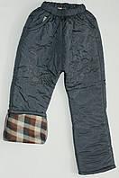 Зимние штаны на синтепоне для девочек 3-9 лет