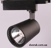 Светильник светодиодный Led трековый TRL40W9 черный на шинопровод