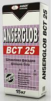 Шпаклевка фасадная белая ANSERGLOB ВСТ-25, 15кг в Одессе