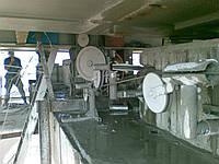 Канатная алмазная резка бетона и железобетона без ограничений толщины реза.