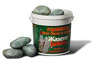 Камни для бани жадеит шлифованный крупный 20 кг