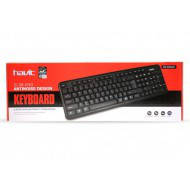 Клавіатура Havit HV-KB378 USB, чорна