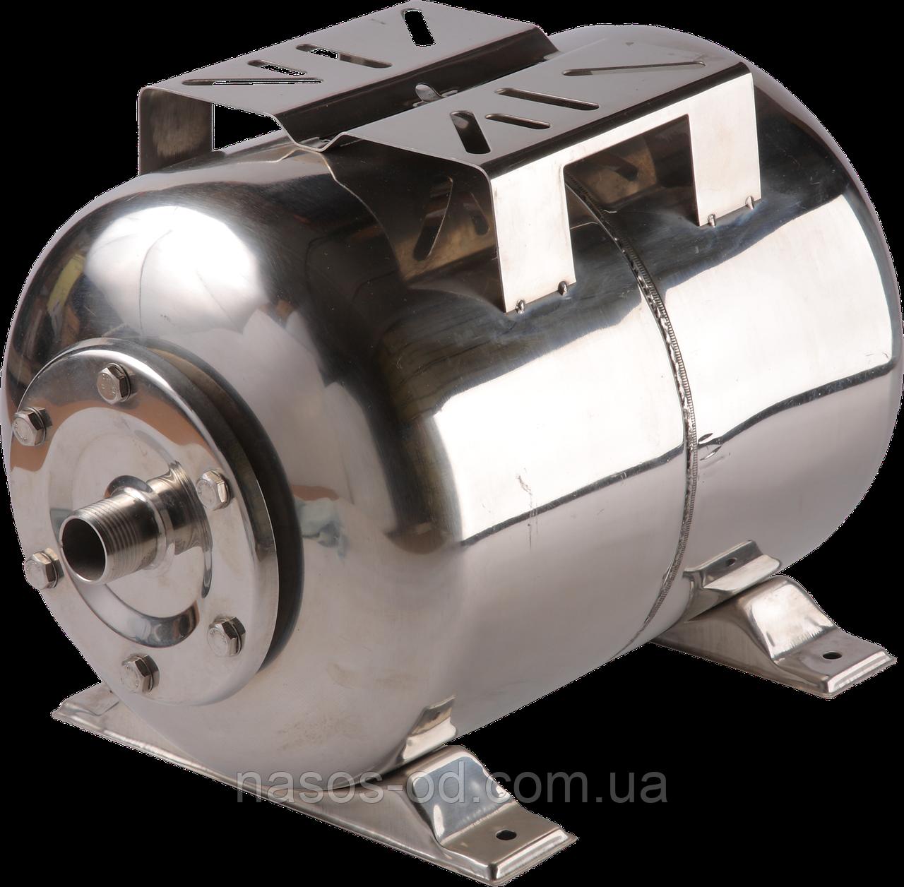 Гидроаккумулятор для воды Kenle РТ 24 горизонтальный 24л (нерж, разборной)