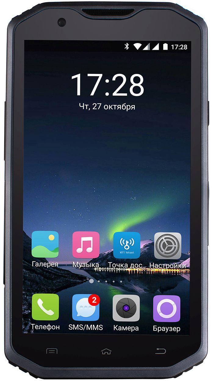 "Смартфон Sigma mobile X-treme PQ31, 2/16Gb, 8/5Мп, 4 ядра, 2sim, экран 5.5"" IPS, IP68, 3000mAh, GPS."